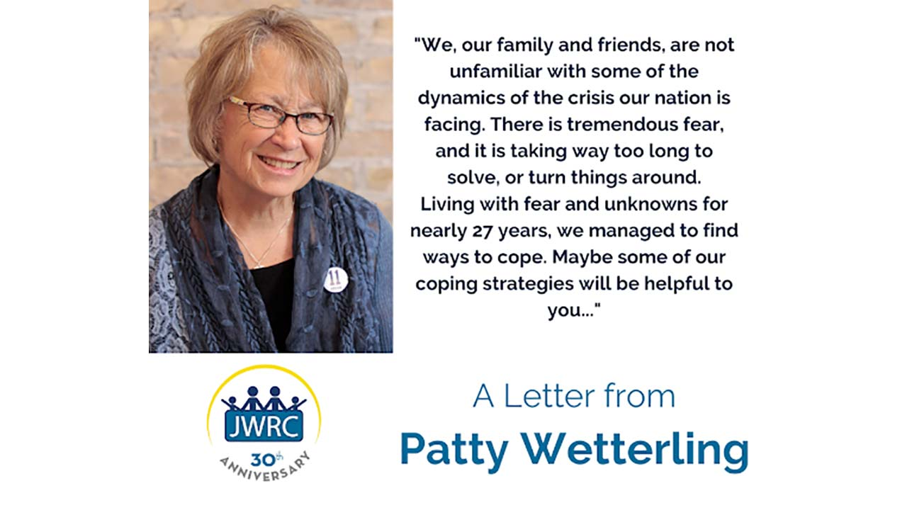 A Letter from Patty Wetterling
